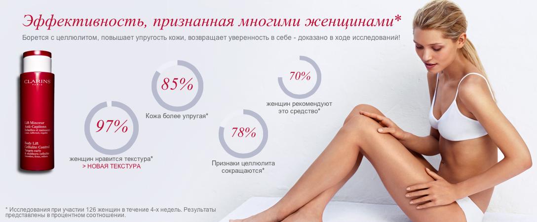 Clarins lift minceur моделирующее средство для похудения