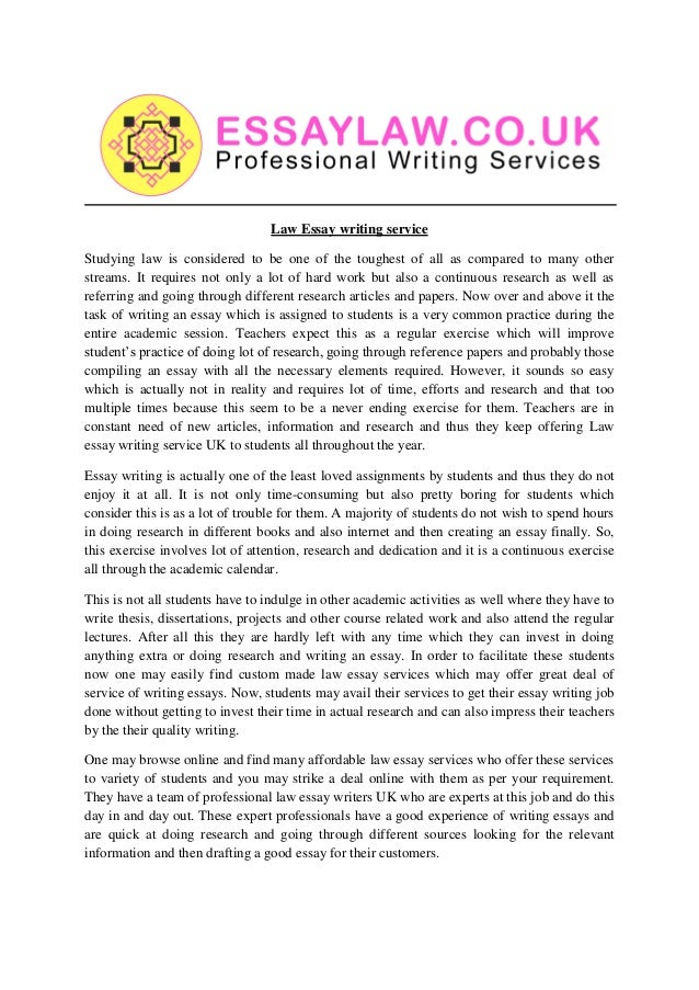 Buy How To Write A Business Law Essay