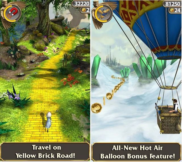 Download free temple run oz for android - Softonic