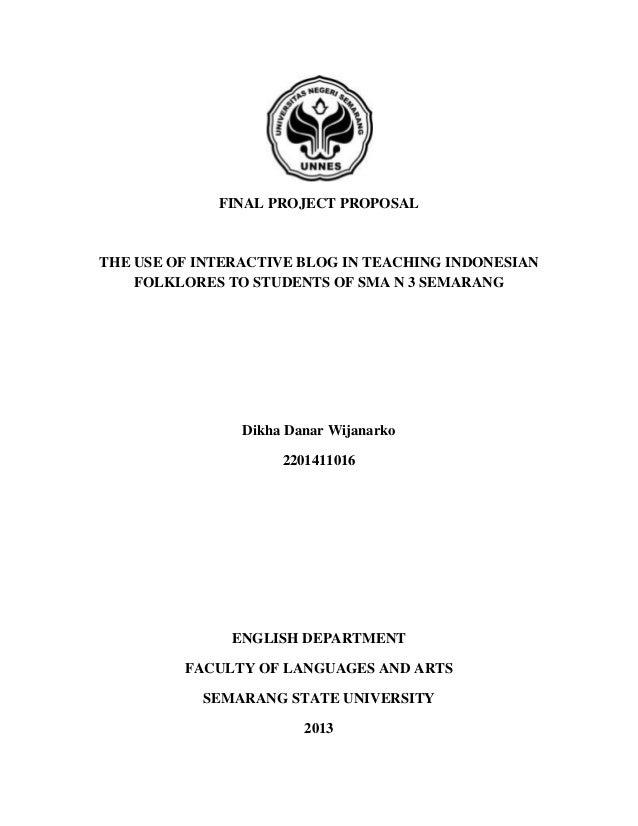 Contoh Proposal Skripsi Sastra Inggris