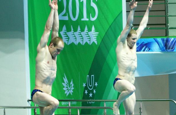 Братья Новосёловы призёры этапа Гран-припопрыжкам вводу