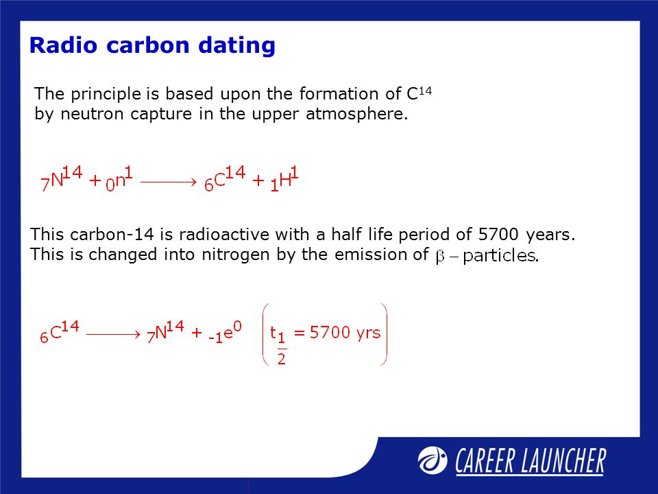 carbon dating done