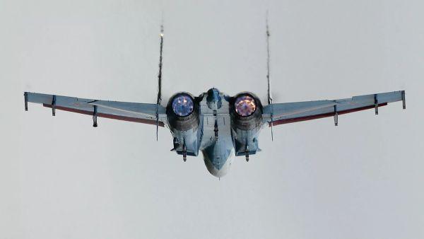 Су-27перехватили самолеты ВВСФранции надЧерным морем