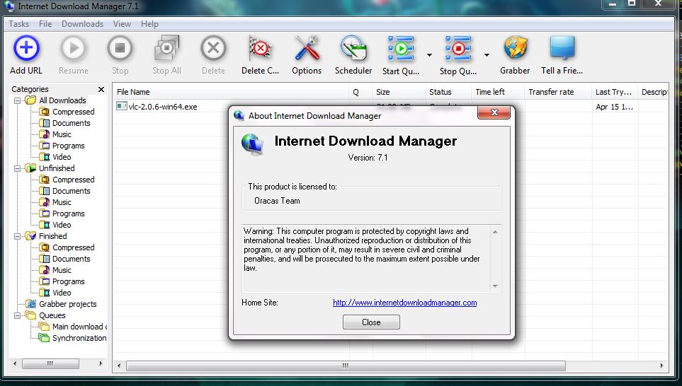 Internet Download Manager IDM 630 build 6 Crack