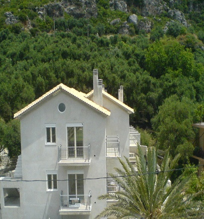 Домик в остров Эпир в деревне
