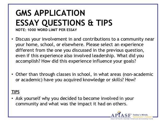 FinAid - Scholarships - Winning - Essays
