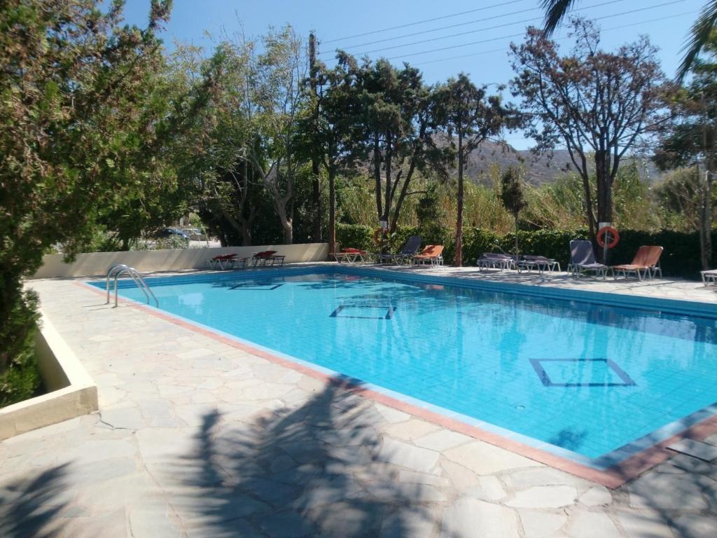 Недорого дом с бассейном в Матала