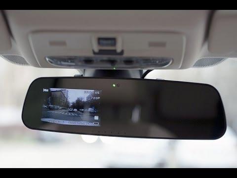 Зеркала заднего вида с видеорегистратором и антирадаром