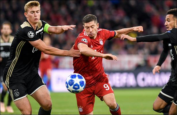Лига чемпионов. «Бавария» несмогла справиться с«Аяксом»
