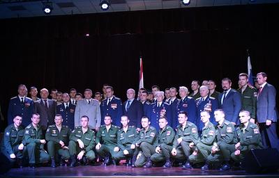 «Швабе» принял участие внаграждении военнослужащих научной роты