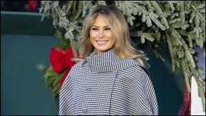 Жена Трампа обратилась камериканцам спрощальным посланием
