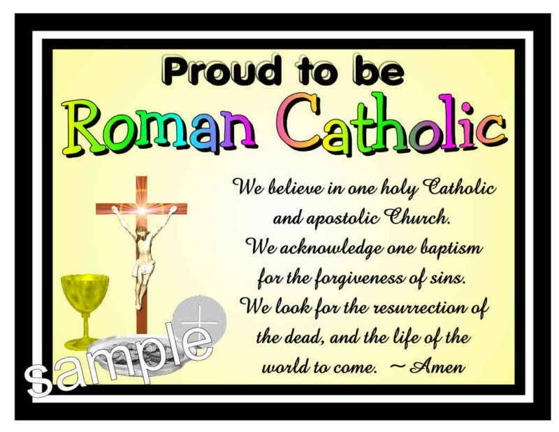 Write my proud to be a catholic american essay