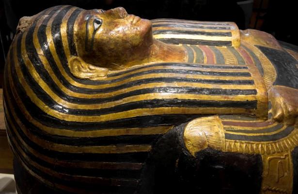 Сканирование мумии дало необычный результат