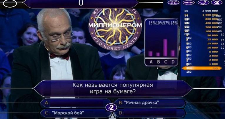 Самые нелепые ответы на«Ктохочет стать миллионером?»