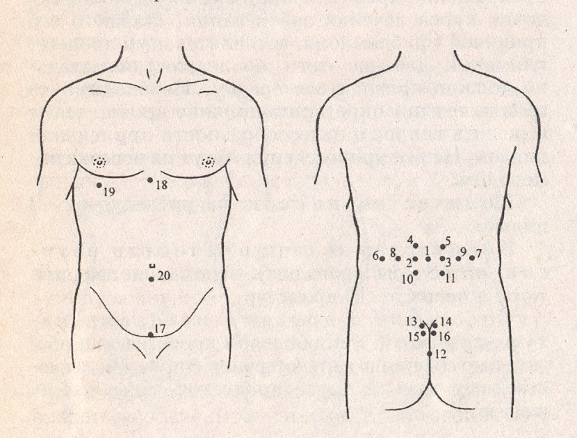 Точки на теле мужчины для повышения потенции