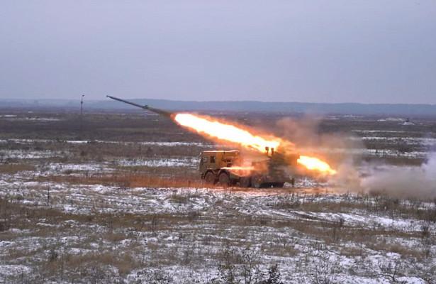 Defense Express (Украина): новейшая украинская РСЗО «Бурэвий» прошла огневые испытания