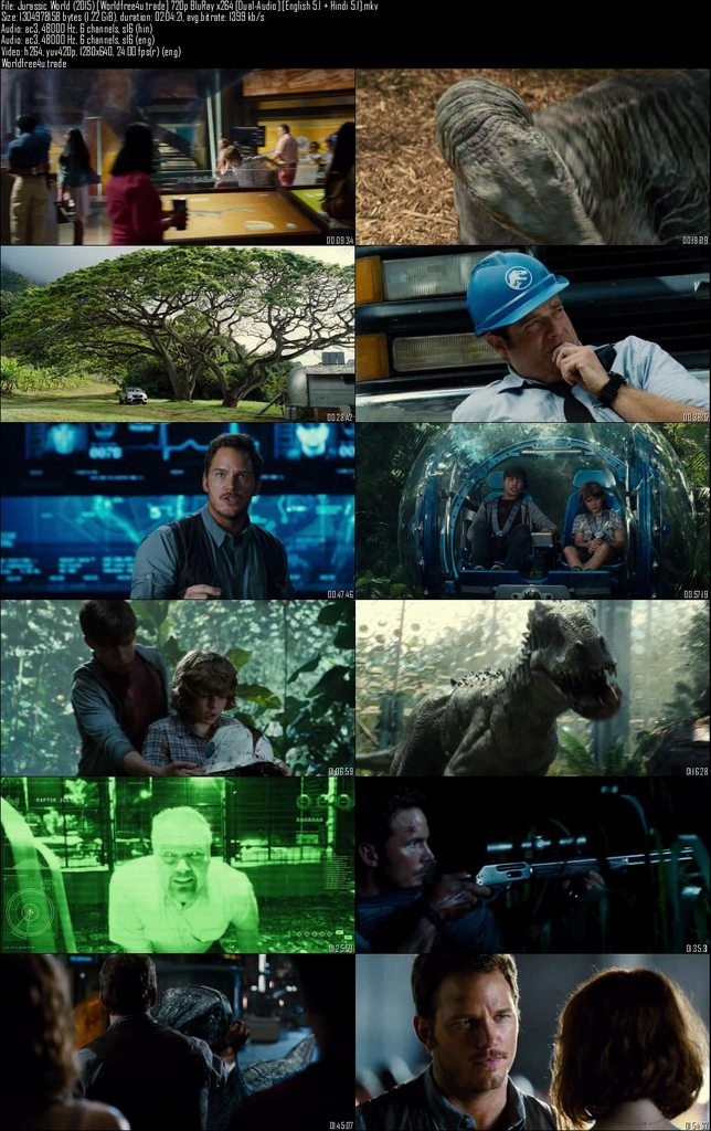 Download Jurassic World (2015) - 720p - HDRip