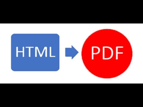 Laravel 5 - generate PDF from html view file and download