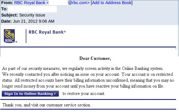 Rbc email address format codes