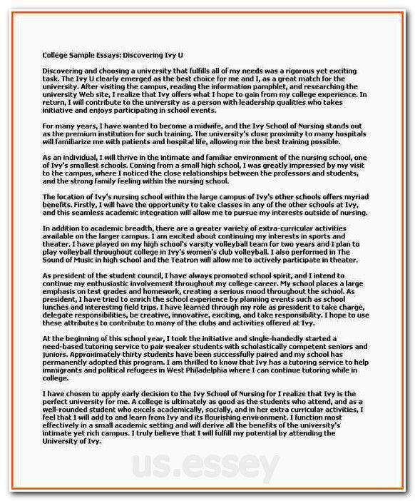 Sample nursing scholarship essay