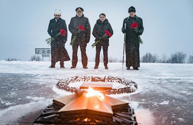 ВДолине Славы подМурманском захоронили останки 91защитника Заполярья