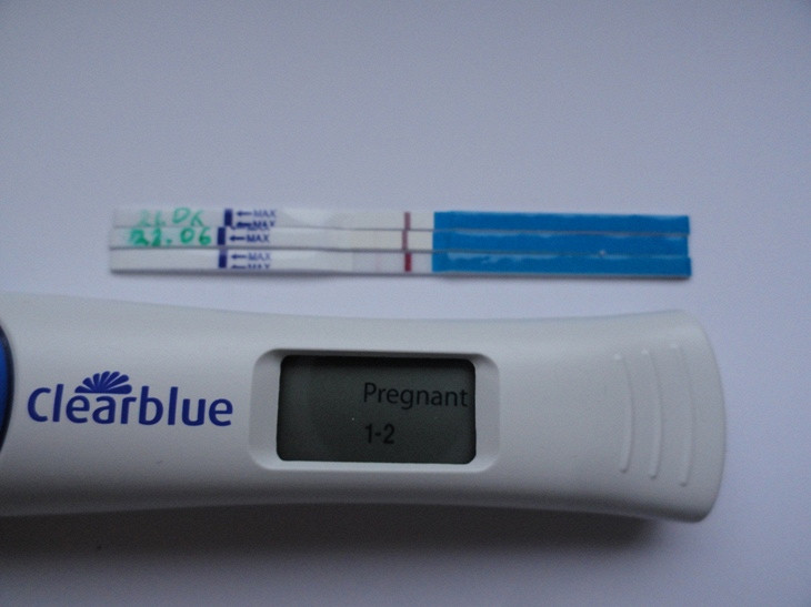 Clearblue instructions pregnancy test