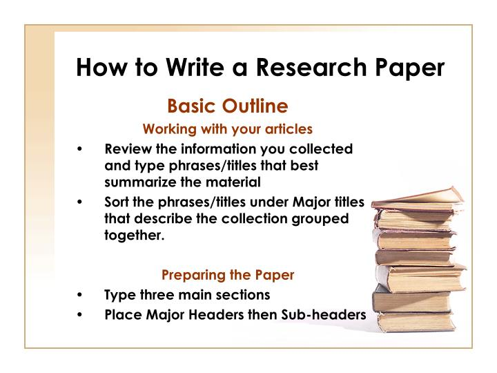 steps to structuring a science paper editors will take