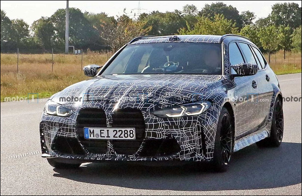 Прототип BMWM3Touring увидели наулицах возле Нюрбургринга