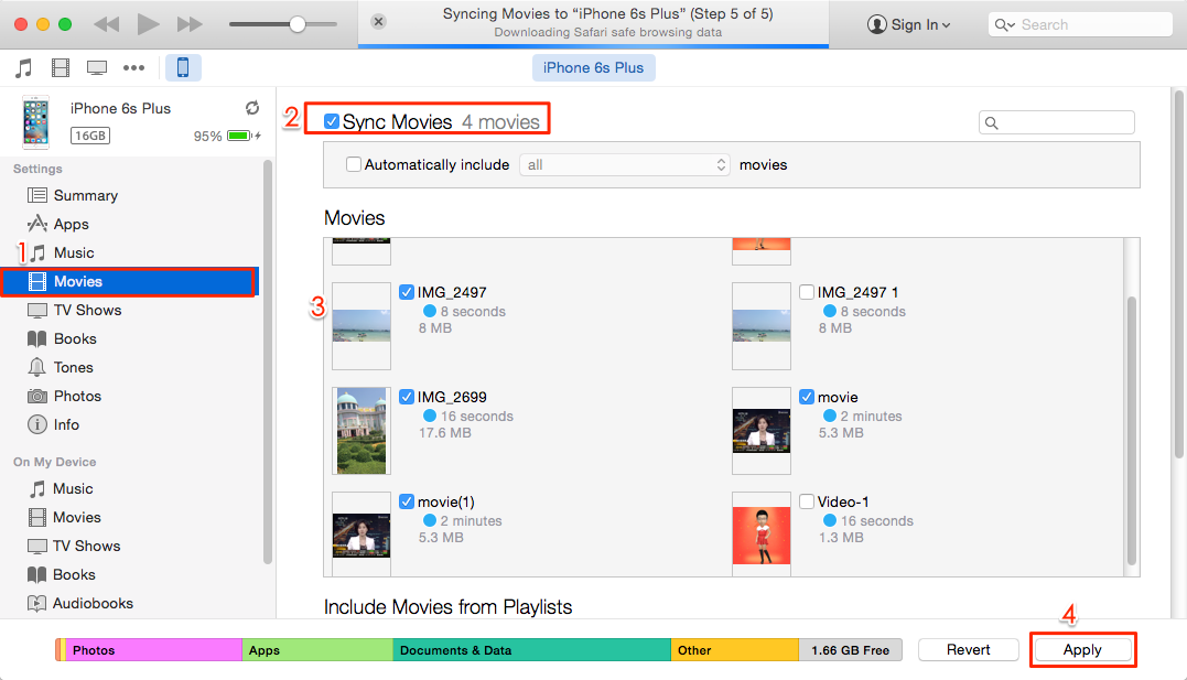 How to stream movies from your iTunes library on iPhone