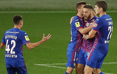 Газзаев оценил шансы ЦСКА вгрупповом этапе Лиги Европы