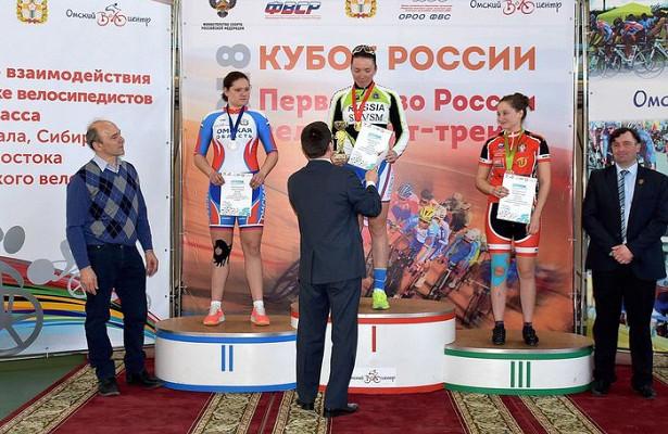 Кубок России повелоспорту натреке начался сминуты молчания