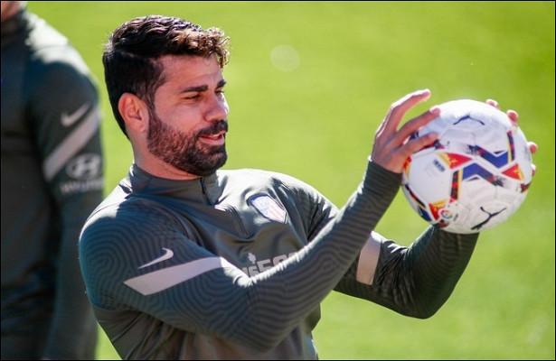 «Атлетико» расторг контракт сДиего Костой
