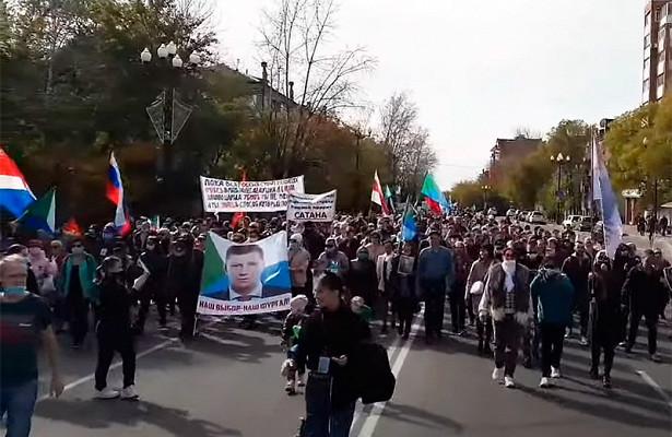 Двое участников хабаровских протестов стали фигурантами уголовного дела по«дадинской» статье