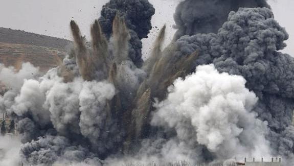 Всирийской пустыне ВКСРФнещадно бомбят отряды «чёрного халифата»