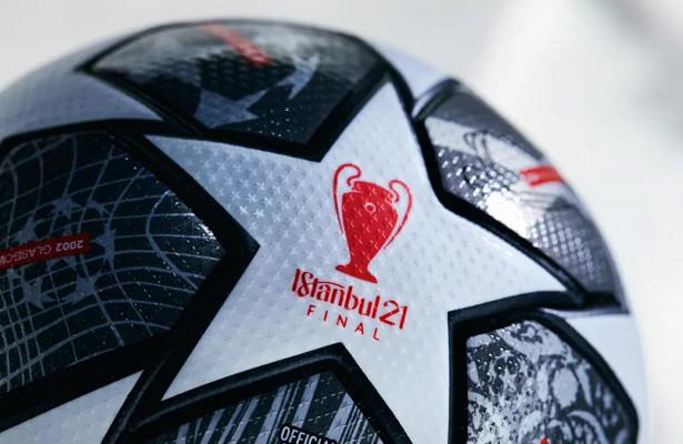 Представлен официальный мячфинала Лиги чемпионов 2021 года