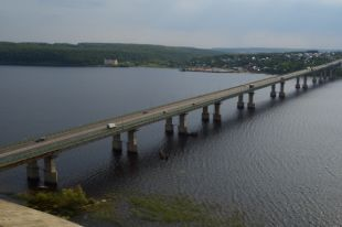 ВТатарстане завершили ремонт самого большого моста через Волгу
