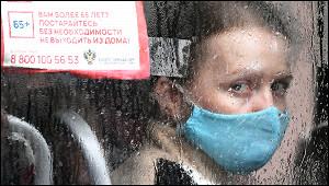 «Масочные идиоты»: пенсионерка устроила скандал вавтобусе
