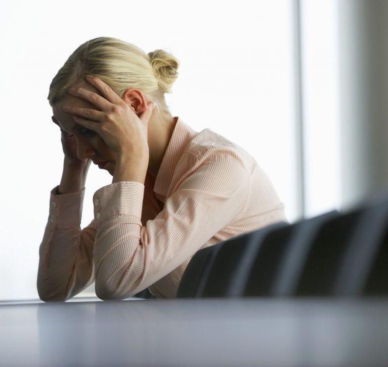 Депрессия у женщины после развода