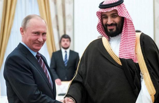 Путин провел телефонный разговор снаследным принцем Саудовской Аравии