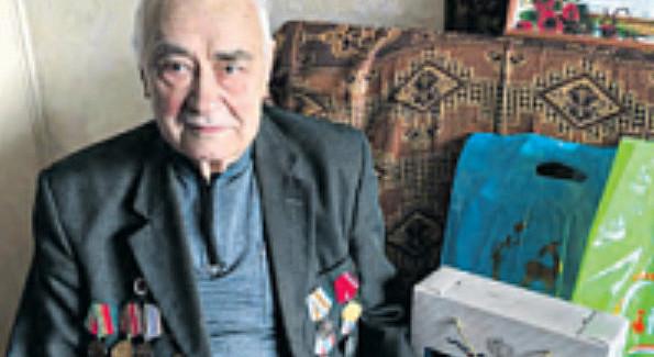 Житель района Савёлки отметил 95-ыйдень рождения