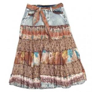 Женские джинсовые юбки выкройки