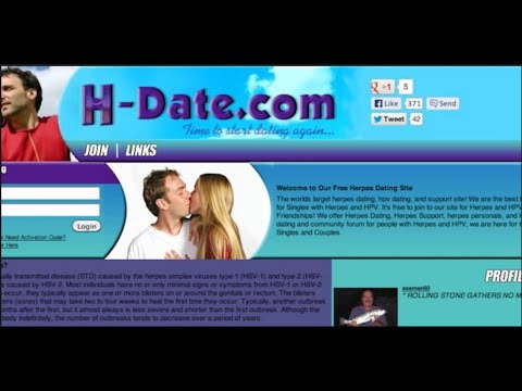 0% Free Herpes Dating) H-Datecom - genital herpes