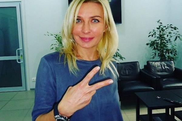 Овсиенко после скандала удалила свой блог