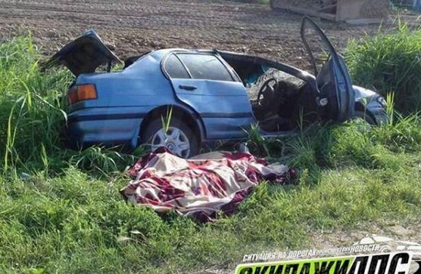 Водитель иномарки погиб приопрокидывании автомобиля вУссурийске