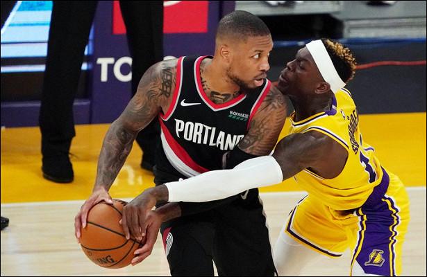 «Лейкерс» проиграл «Портленду» вматче НБА