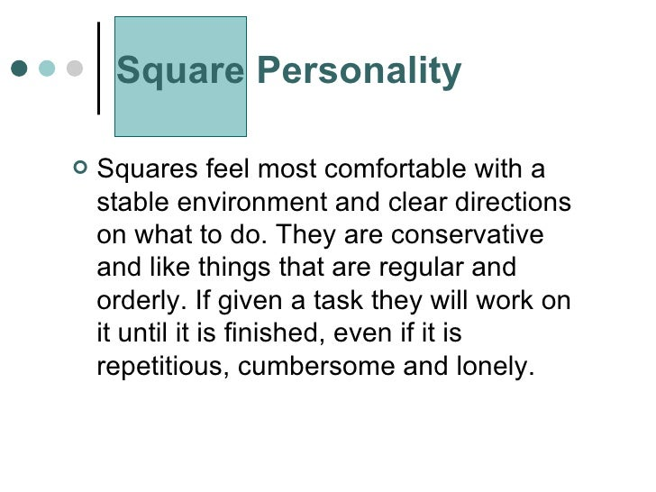 Personality essay