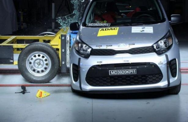 Экспертов латинской NCAP возмутили результаты краш-тестов KiaPicanto