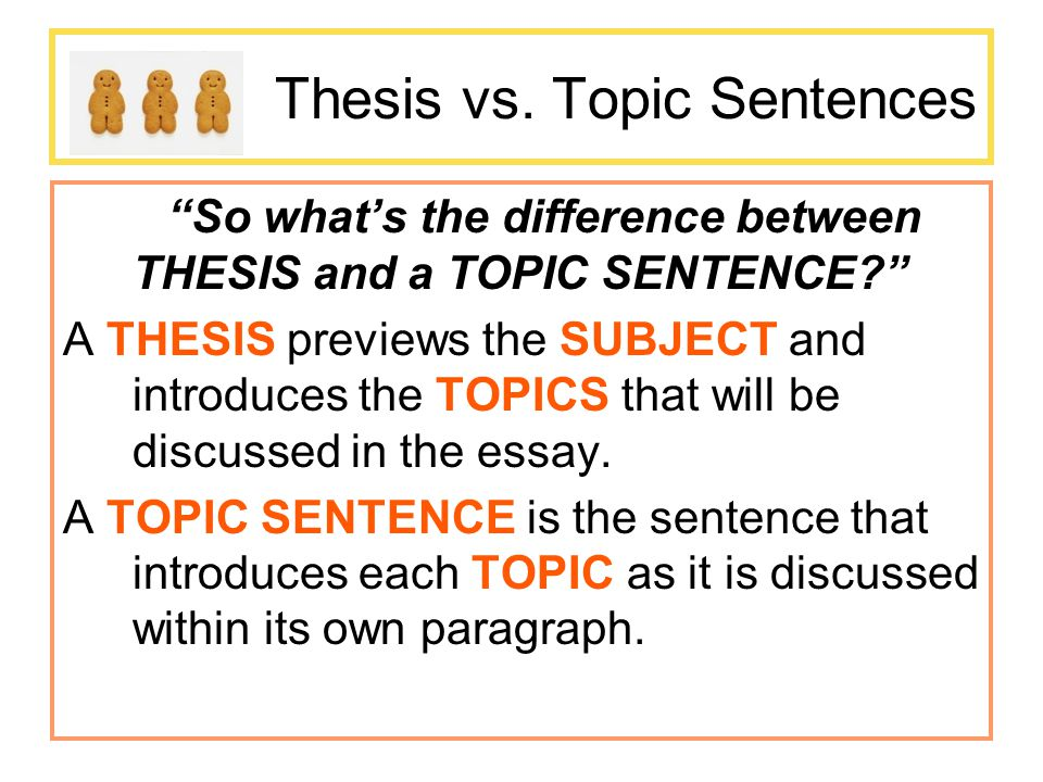Thesis Vs Thesis Statement - Thesis Title Ideas For College