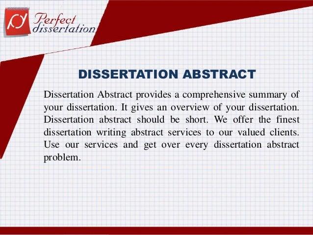 Need help writing my dissertation
