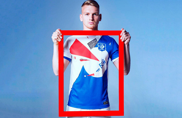Футболист Даниил Чалов создал оригинальную форму дляФК«Витебск»